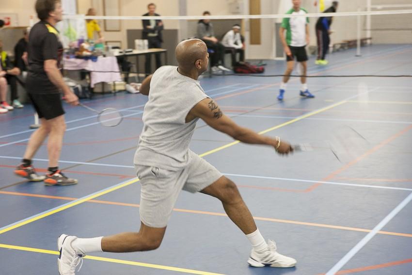 Badminton heren dubbel